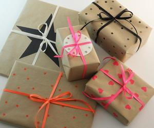 gifts and wrapping image