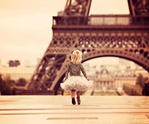 paris, eiffel tower, and baby image