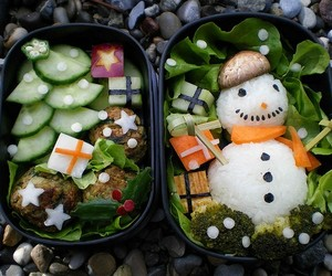bento, food, and cute image