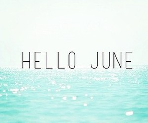 june, summer, and sea image