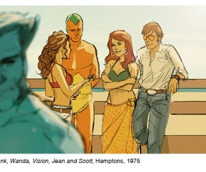 beast, cyclops, and jean grey image