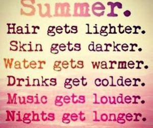 summer, music, and hair image