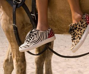 sneakers, shoes, and zebra image