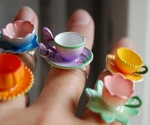 cute, rings, and ring image