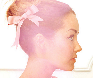 lauren conrad, hair, and bow image