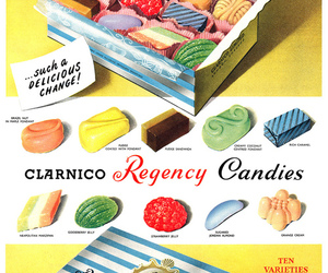 candy, food, and vintage image
