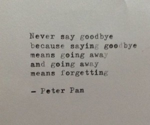 forgetting, goodbye, and love image