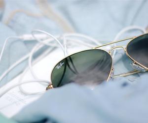 sunglasses, ray ban, and summer image