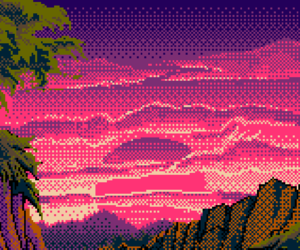 background and pixel image