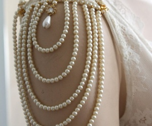 pearls and dress image