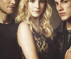 caroline, tyler, and klaus image