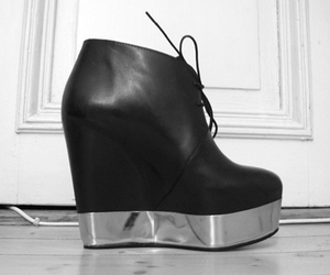 acne, acne shoes, and acne platforms image