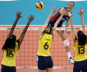 Best, volleyball, and brazil image