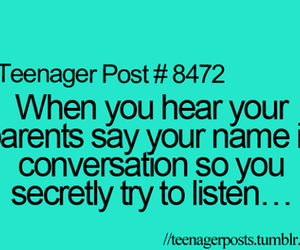 teenager post, parents, and quotes image