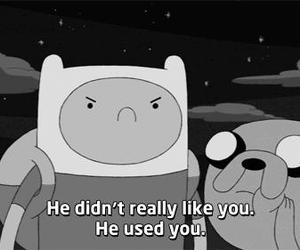 adventure time, sad, and quotes image