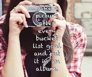 camera, girl, and pictures image