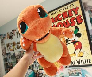 pokemon, charmander, and orange image