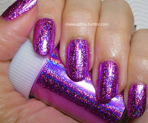 glitter, nailpolish, and nails image