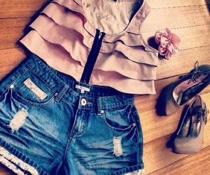 fashion, pretty, and shorts image