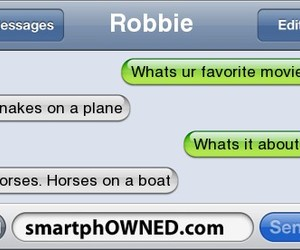 dialogue, funny, and horses image