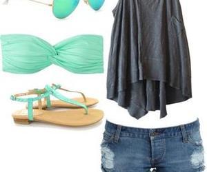 fashion, girl, and short image