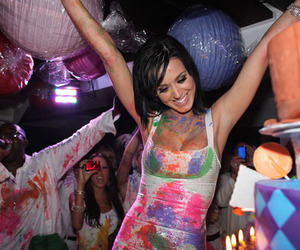 katy perry, party, and paint image