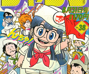 90s, anime, and glasses image