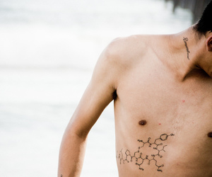 boy and tattoo image