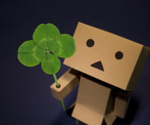 danbo, clover, and lucky image