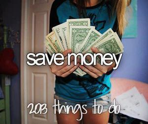 money, save, and 2013 image