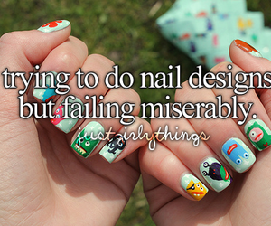 nails, quote, and girly image
