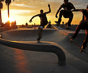 skate, guy, and photography image