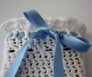 blue, craft, and crochet image