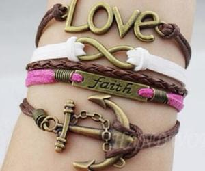 love, bracelet, and faith image