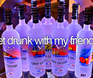 drunk, friends, and before i die image