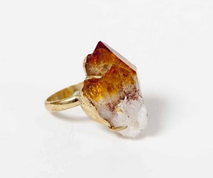 ring, crystal, and fashion image