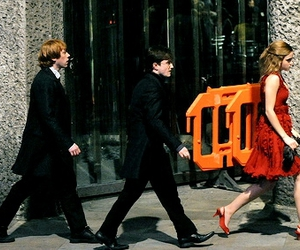abbey road, the deathly hallows, and filming image