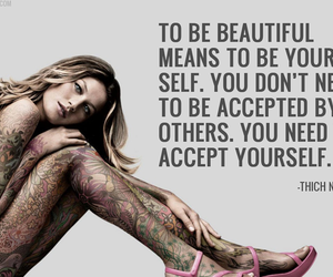 tattoo, beautiful, and quote image