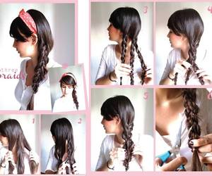 cabelo, hair, and hair styles image