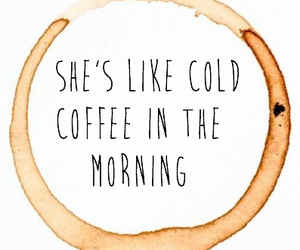 art, coffee, and cold image