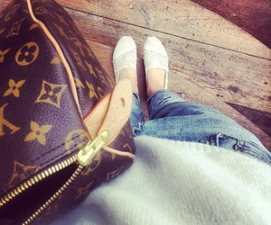 blogger, jeans, and Louis Vuitton image