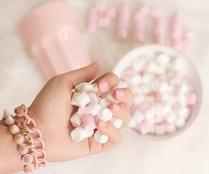 eat, candies, and pink image