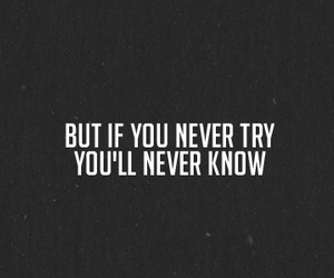 try, quote, and text image
