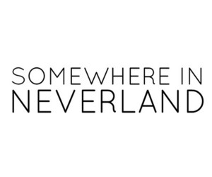 neverland, quote, and love image