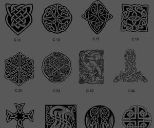 celtic, knot, and tattoo image