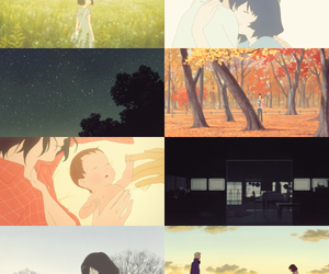 anime and wolf children image