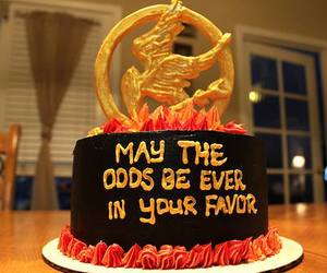 cake, hunger games, and the hunger games image