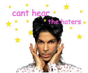 haters, prince, and funny image