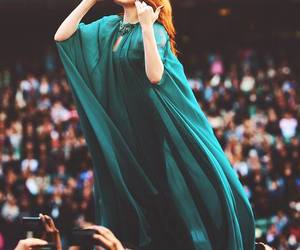 florence welch, lovely, and chime for change image