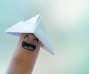 fingers, happy, and smile image